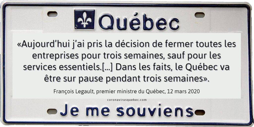 Quebec Je me souviens